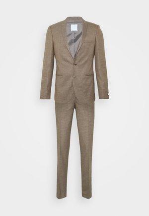BODON SUIT - Kostym - brown