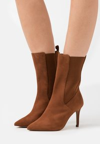 Zign - High heeled boots - cognac - 0
