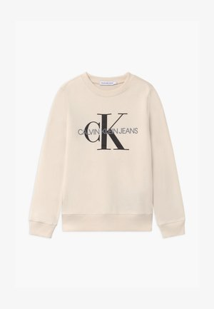 MONOGRAM LOGO UNISEX - Sweatshirt - off-white