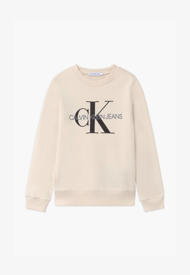 MONOGRAM LOGO UNISEX - Sweatshirts - off-white
