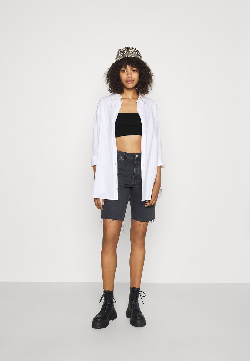 Missguided - BANDEAU TOP 2 PACK - Bustino - black/white