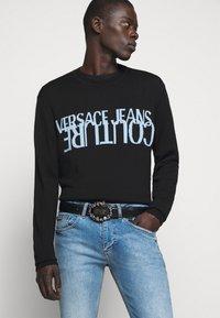 Versace Jeans Couture - Belt - black/gunmetal - 0
