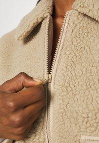 Noisy May - NMTANYA JACKET - Light jacket - beige - 5