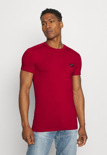 SUPER SLIM FIT - Basic T-shirt - rosso