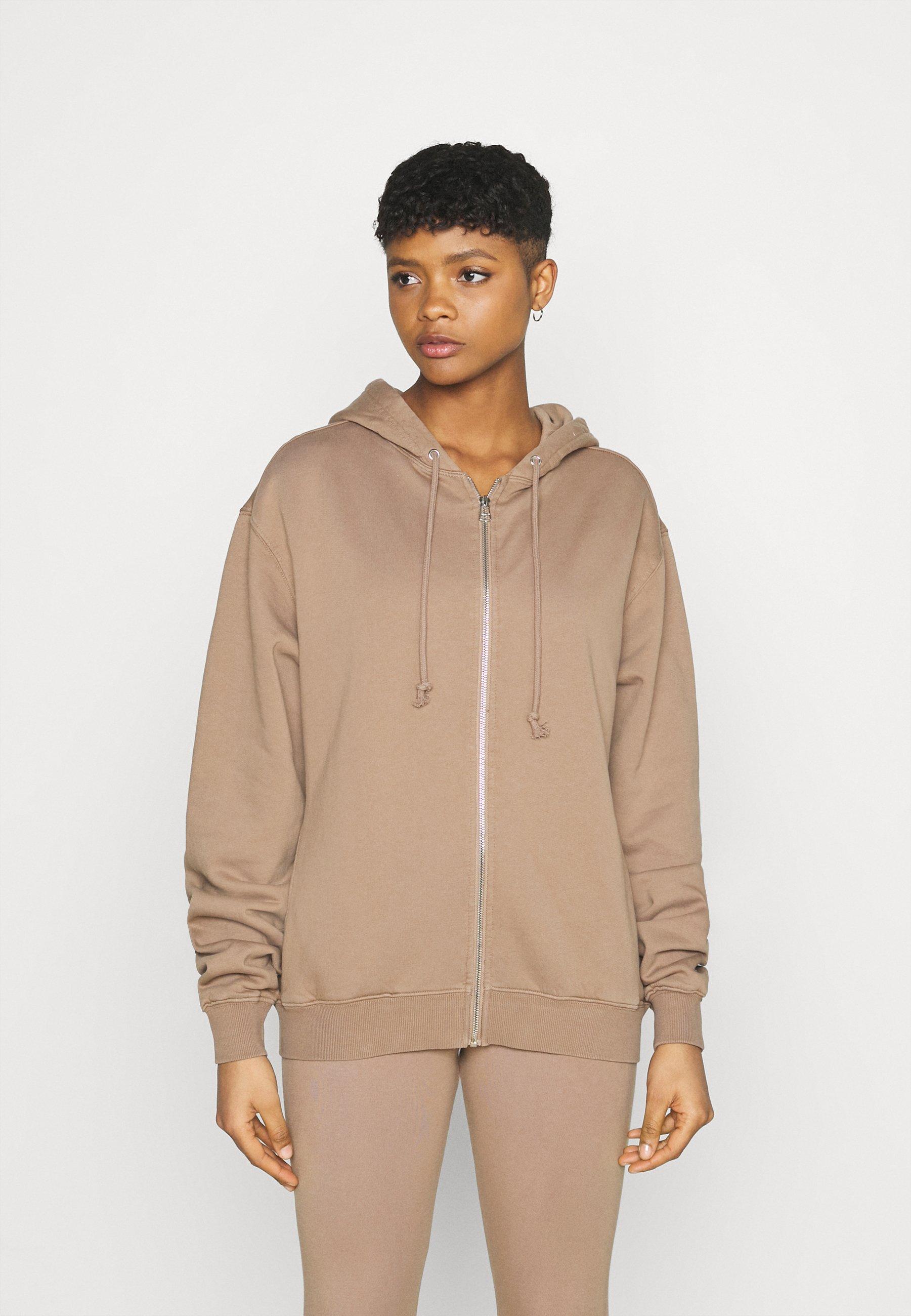Femme BOYFRIEND ZIP HOODIE - Sweat à capuche zippé