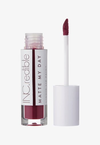 INC.REDIBLE MATTE MY DAY LIQUID LIPSTICK - Liquid lipstick - 10070 fake it til i make it