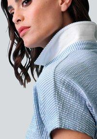 Alba Moda - Shirt dress - hellblau weiß - 3