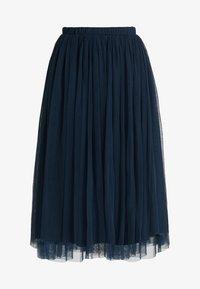 Lace & Beads Petite - MERLIN SKIRT - A-line skjørt - navy - 3