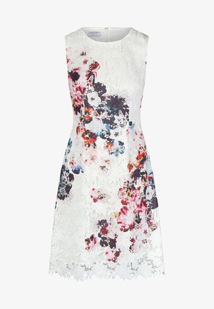 SPITZENKLEID - Robe d'été - cream/multicolor