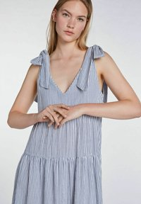 SET - Maxi dress - blue white - 4
