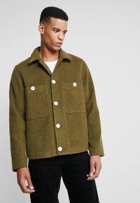 Weekday - AVON JACKET - Light jacket - khaki - 0