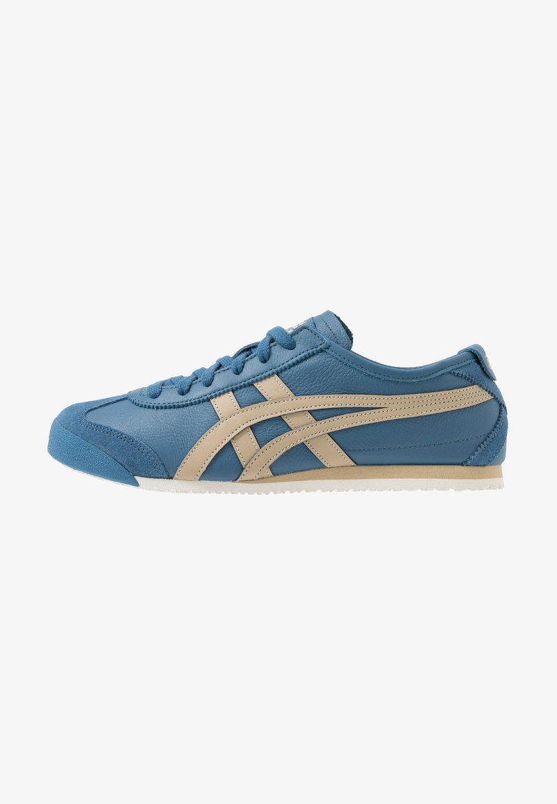 Onitsuka Tiger - MEXICO 66 UNISEX - Baskets basses - winter sea/wood
