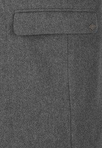Solid - JAMPA - Classic coat - grey melange - 5