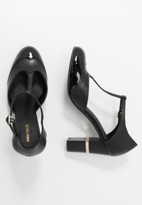 Anna Field - LEATHER PUMPS - Escarpins à talons hauts - black - 3