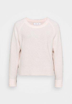 Strikkegenser - crystal pink melange