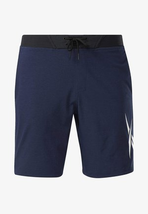 TEXTURED EPIC SHORTS - Sports shorts - blue