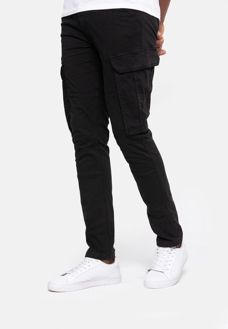 Threadbare - Cargo trousers - black