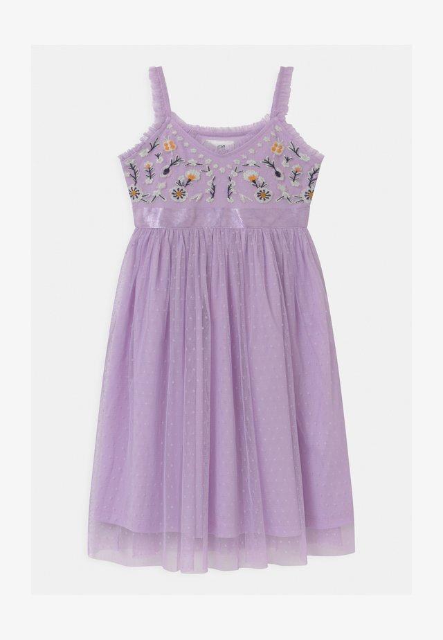 Cocktail dress / Party dress - pastel lilac