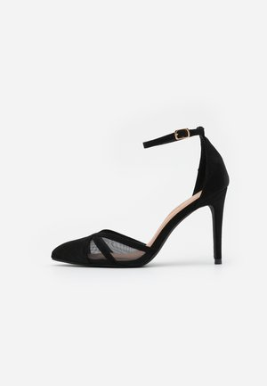 STRIPE  - Klassiska pumps - black