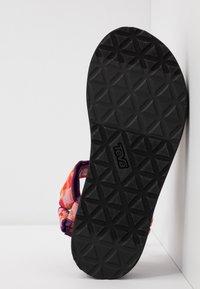 Teva - MIDFORM UNIVERSAL WOMENS - Walking sandals - hummingbird gloxinia - 4