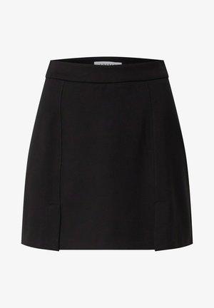 LEYLA - Mini skirt - schwarz