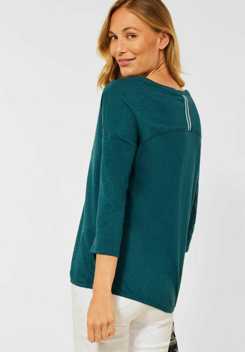 Cecil - Long sleeved top - grün