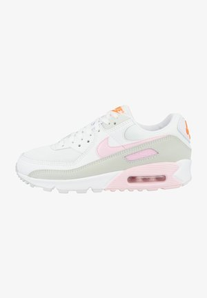AIR MAX  - Baskets basses - white-pink foam-total orange (cz0371-100)