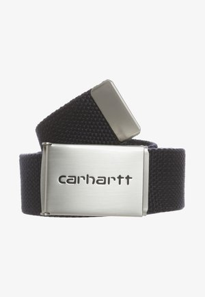CLIP BELT CHROME UNISEX - Belt - dark navy