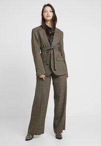 Soeur - GONTRAN - Pantalon classique - beige chine - 1