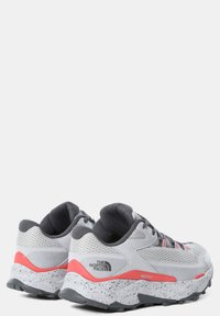 The North Face - TARAVAL - Hiking shoes - microchip grey/fiesta red - 2