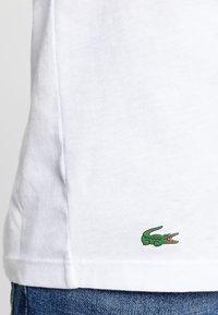 Lacoste - 3 PACK SLIM FIT TEE  - Undershirt - black/mottled grey/white - 7