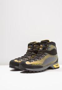 La Sportiva - TRANGO TRK GTX - Hiking shoes - yellow/black - 2