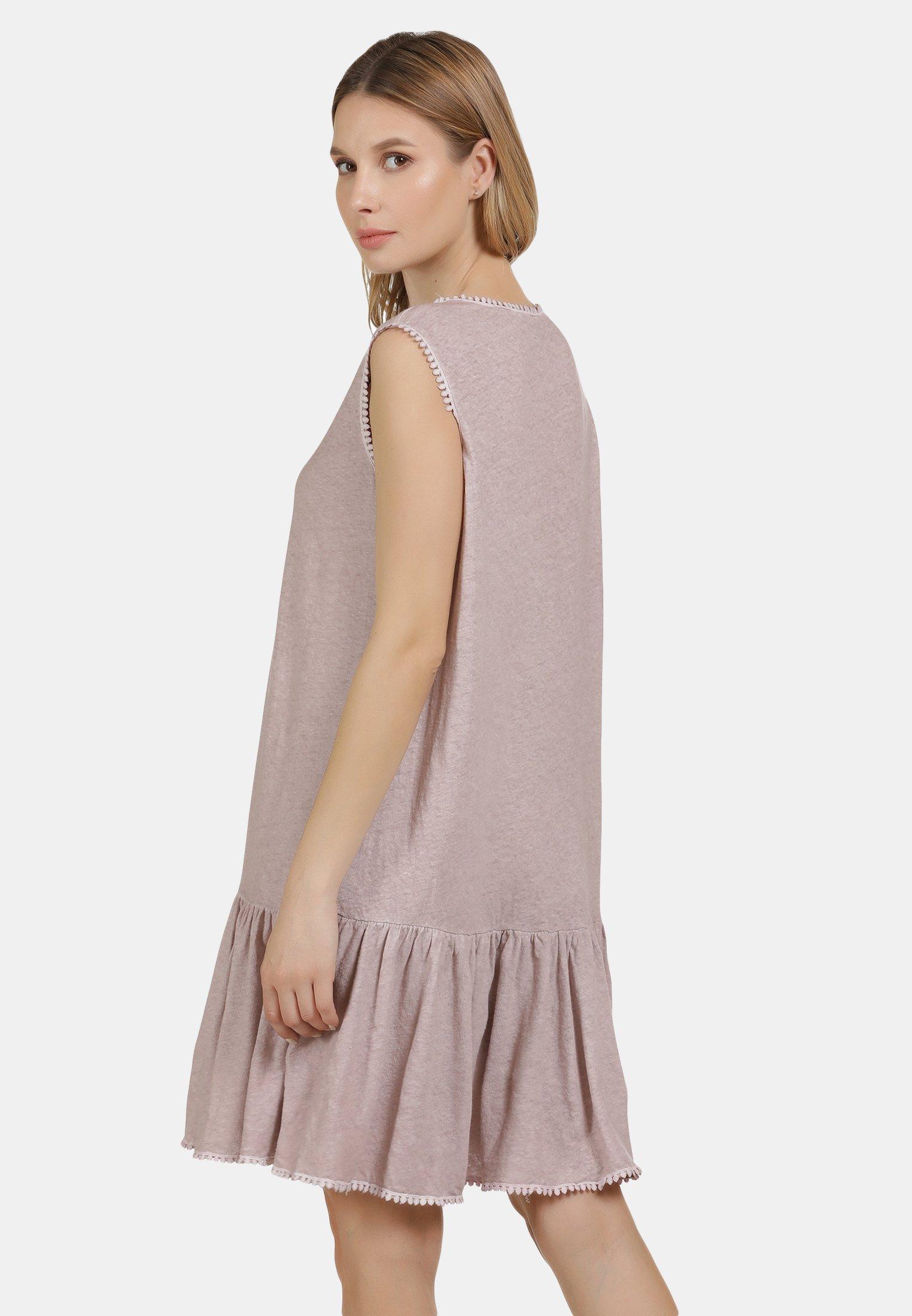 DreiMaster Jerseykleid nude