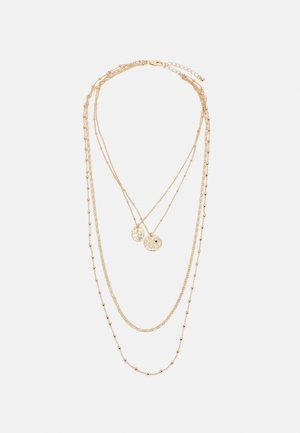 PCJULLI COMBI NECKLACE - Necklace - gold-coloured