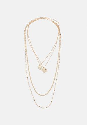 PCJULLI COMBI NECKLACE - Halsband - gold-coloured