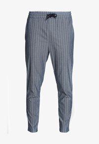 Only & Sons - ONSLINUS CROP STRIPE  - Trousers - dark blue - 4