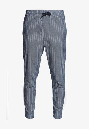 ONSLINUS CROP STRIPE  - Pantaloni - dark blue
