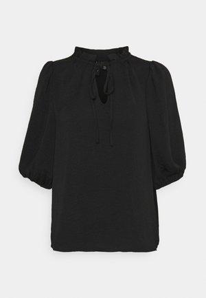VMWIGGA V NECK - Long sleeved top - black