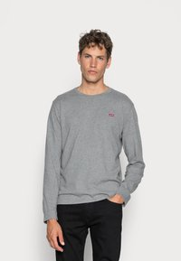 Levi's® - ORIGINAL TEE - Maglietta a manica lunga - grey heather - 0