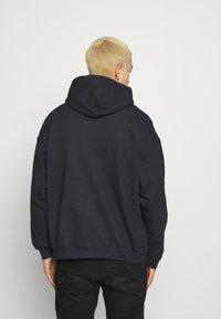 Mennace - OF DEATH HOODIE - Sweatshirt - washed black - 2