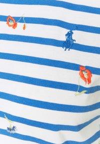 Polo Ralph Lauren - T-shirt con stampa - blue/white - 6