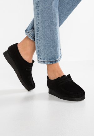 WALLABEE - Mocassini - black