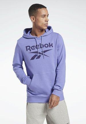 REEBOK IDENTITY BIG LOGO HOODIE - Hoodie - purple