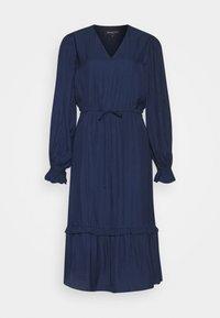 SLFCALLIE DAMINA MIDI DRESS  - Day dress - maritime blue