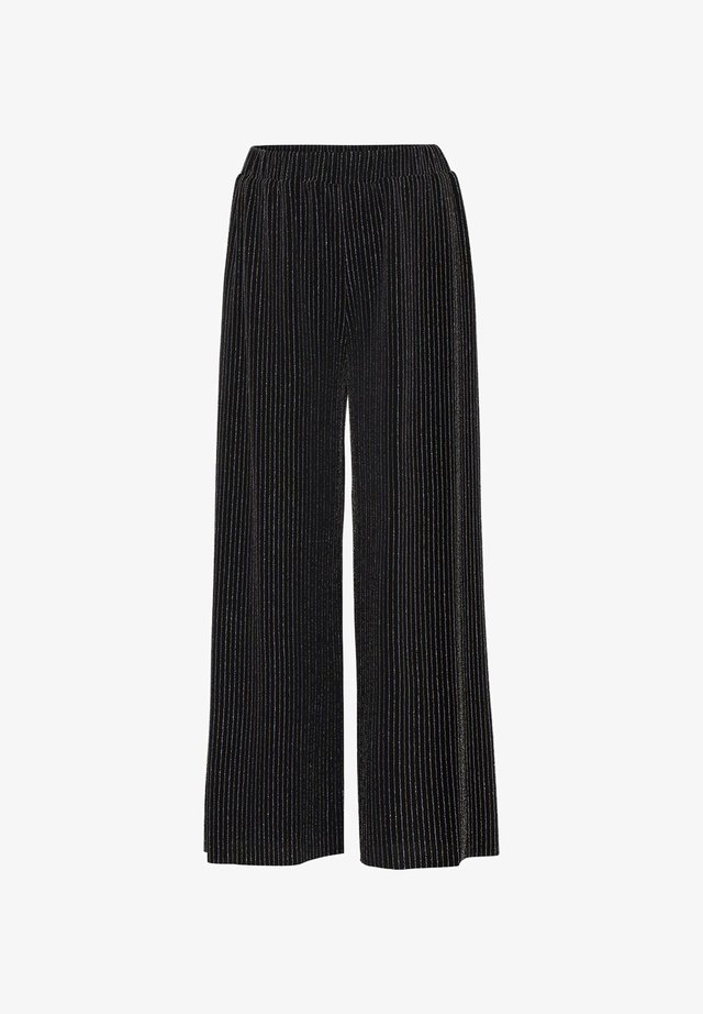ADORIA - Bukser - shimmer stripe