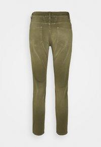 CLOSED - BAKER - Jean slim - green umber - 6