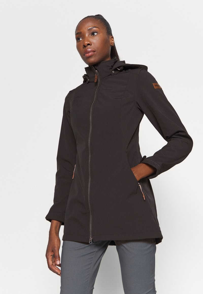 Icepeak - UHRICHSVILLE - Soft shell jacket - anthrazit