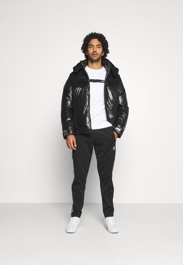 Calvin Klein BOLD STRIPE LOGO - Bluza - white/biały Odzież Męska BJHG