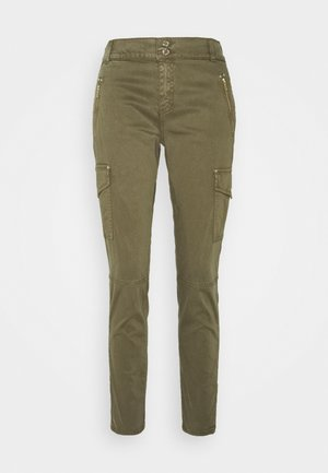 GILLES PANT - Cargo trousers - army
