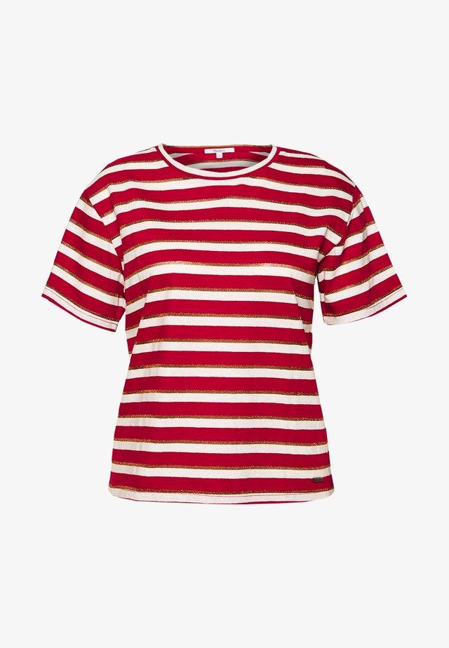 CAMILE - T-shirts print - tibetan red